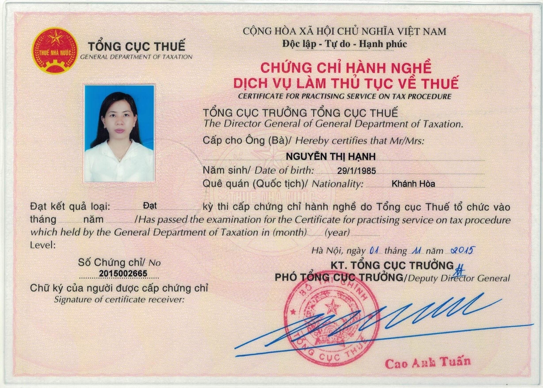 Chung chi HN1